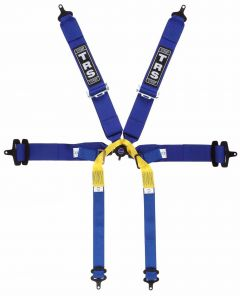 Pro 6 Point Single Seater Harness