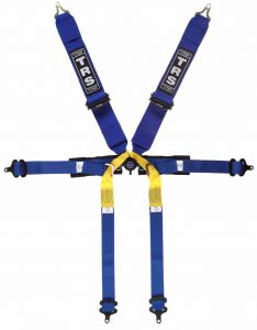 Pro 6 Point Superlite Single Seater  Harness