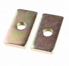 Backplates 50mm x 25mm x 6mm