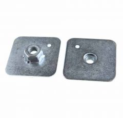 Backplates (FISA) Welded Nut 65mm x 65mm x 3mm