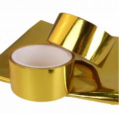 Gold Heat Reflective Tap 50mm x 9m