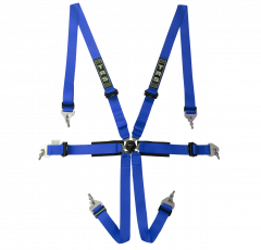 International 6 Point Ultralite FHR Only FIA Harness
